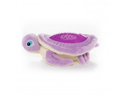 Plyšová hračka Želva s projektorem