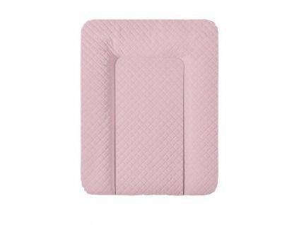 Podložka přebalovací na komodu měkká 70x50 cm CARO Pink Ceba