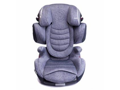 kiddy cruiserfix 3 fotelik samochodowy 15 36 kg silver grey stone grey melange da16b400fd43448392bf425cc7ae7787 301eef6d