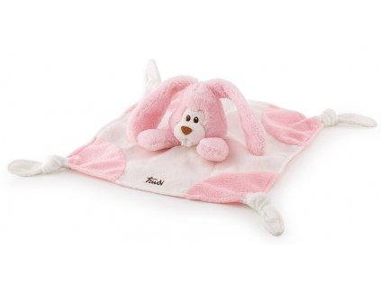 Plyšový mazlíček Zajíc- růžový