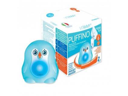 VITAMMY Puffino pneumatický pístový inhalátor pro děti