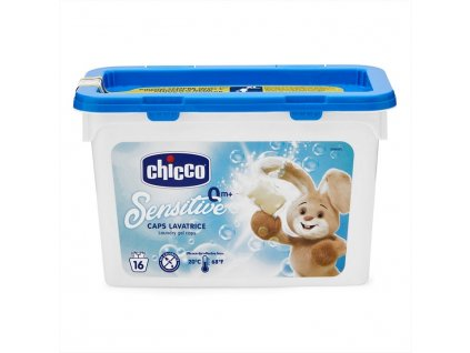 Tobolky prací gelové Chicco Sensitive, 16ks