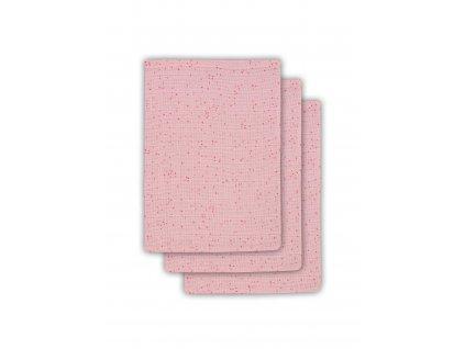 Žínka 15x21cm (3ks) Mini dots blush pink