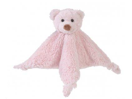 Happy Horse   méďa Boogy přítulka s chrastítkem růžová Velikost: 25 cm