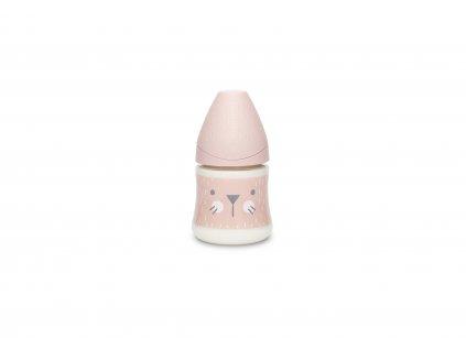 SUAVINEX   Premium láhev 150 ml s HYGGE VOUSKY - RŮŽOVÁ