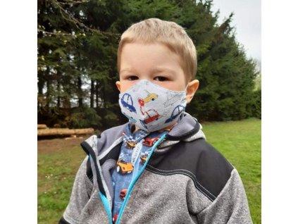 ESITO Dětská ochranná rouška velikost XS - XS / chlapecké ESHYGROUBAVVELXS