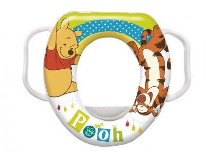 Redukce na WC s úchyty měkká Olga Winnie Pooh