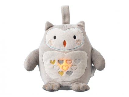 Noční světlo s hudbou Grofriend Ollie the Owl