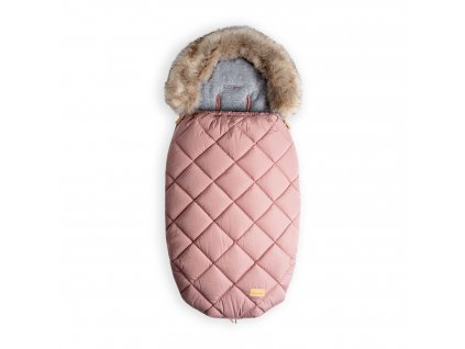 Beztroska fusak-kožešina 110 cm, pink powder (5-36m)/L