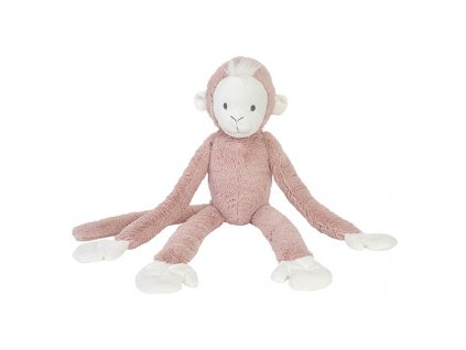 HAPPY HORSE | Opička Peach růžová no.2  Velikost: 43 cm
