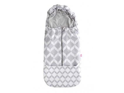 Fusak do kočárku Softshell Classics Grey Motherhood