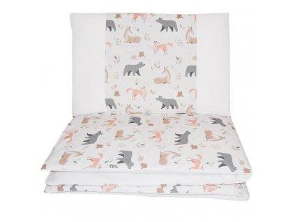 Prádlo ložní 2dílná Roe-Deer 90x120cm + 40x60cm