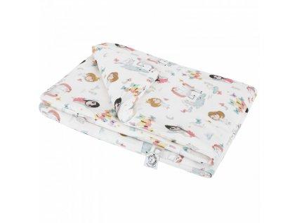 Bonjour Chérie - bambusová deka velká 100x150 Elfové