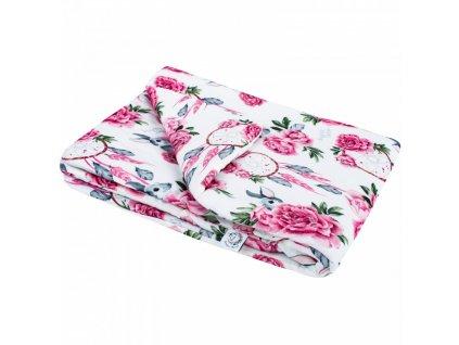 Bonjour Chérie - bambusová deka velká 100x150 Lapače snů
