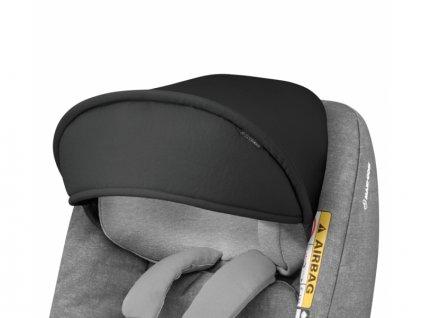 Sluneční stříška pro autosedačky černá