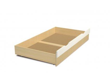 Kontejner na ložní prádlo Faktum Mókus bílá 90x200 cm -
