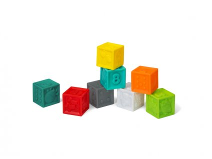 Kostky Squeeze & Stack 8 ks  + sleva 6% na nezlevněné zboží