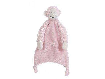 Happy Horse - Přítulka opička Mickey růžová  Velikost: 28 cm