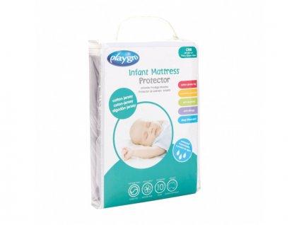 Playgro - Chránič na dětské matrace - Bavlněný žerzej