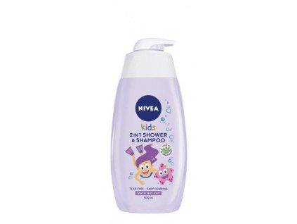 NIVEA BABY NIVEA Dětský sprchový gel GIRL 500 ml