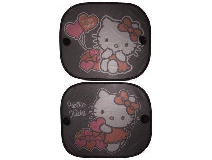Stínítko na okno auta 2ks Hello Kitty