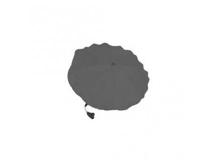 Slunečník na kočárek šedý tmavý  + sleva 6% na nezlevněné zboží