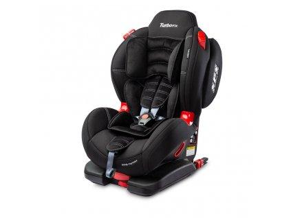 Autosedačka CARETERO Sport TurboFix black 2016