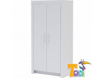 Skříň Todi White Bunny