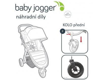 BabyJogger KOLO přední CITY MINI GT