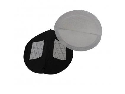 Baby Dan BabyDan prsní tampóny ultra absorpční 24ks, černé