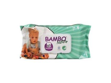 BAMBO Nature vlhčené ubrousky (80 ks)