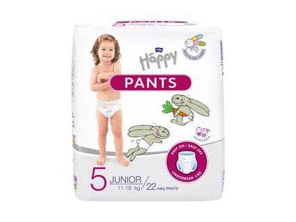 BELLA HAPPY Pants Junior (11-18 kg) 22 ks – jednorázové pleny