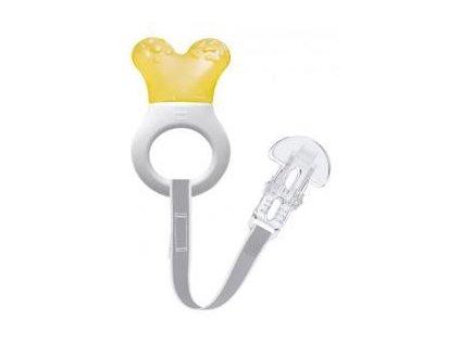 MAM Mini Cooler&Clip Kousátko s páskem 2m+ Žlutá