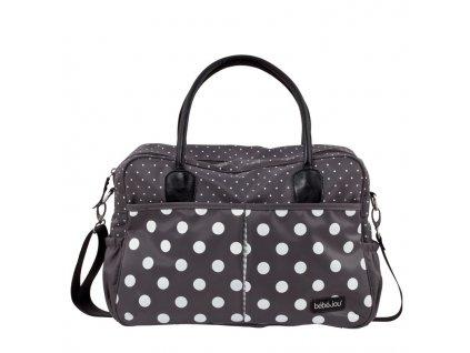 Bebe-Jou Luxusní přebalovací taška Bébé-Jou Grey Dots