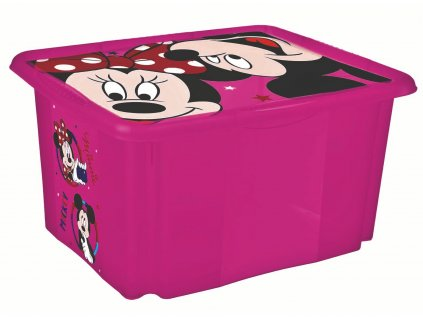 """Úložný box s víkem """"Minnie"""""""