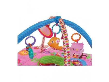 Hrací deka a ohrádka - růžoví ptáčci 27292, B05.026