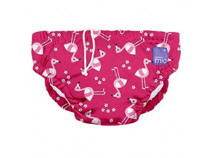 BAMBINO MIO Plavky kojenecké Pink Flamingo vel.XL