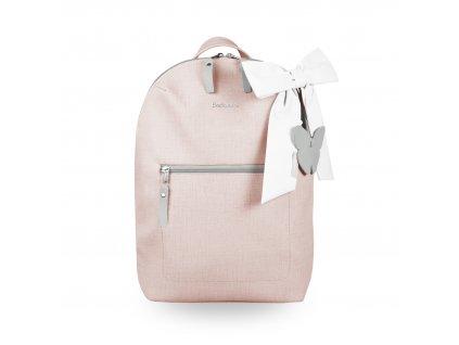 Beztroska Miko batůžek s mašlí pink powder