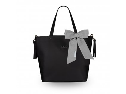 Beztroska Matylda taška s mašlí deep black