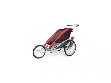 THULE CTS COUGAR 2 RED + BIKE