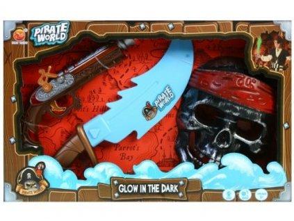 Pirátská sada MEGA CREATIVE 419458 Pirátská sada MEGA CREATIVE 419458