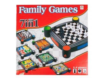 Šachová hra 7v1 MEGA CREATIVE 442867 Šachová hra 7v1 MEGA CREATIVE 442867