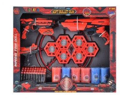 Šípová pistole + příslušenství MEGA CREATIVE 460088 Šípová pistole + příslušenství MEGA CREATIVE 460088