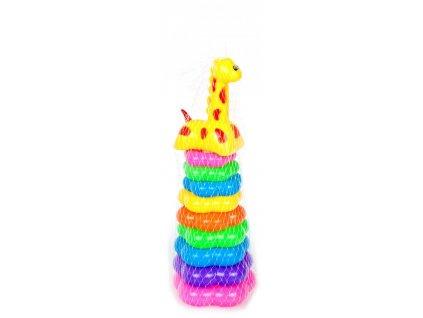 Žirafa pyramida MEGA CREATIVE 462712 Žirafa pyramida MEGA CREATIVE 462712