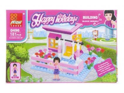 Stavební bloky 181 prvků pro dívky PUD MEGA CREATIVE 463004 Stavební bloky 181 prvků pro dívky PUD MEGA CREATIVE 463004
