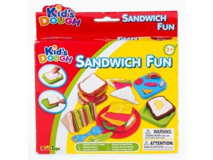 Plastelína Sandwich + příslušenství MEGA CREATIVE 463204 Plastelína Sandwich + příslušenství MEGA CREATIVE 463204