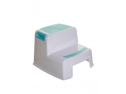 DREAMBABY Stupínek dvoupatrový Aqua / White