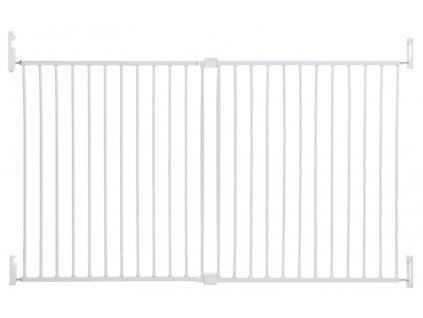DREAMBABY Zábrana bezpečnostní Broadway 2-panelová extra široká 76-134,5 cm White