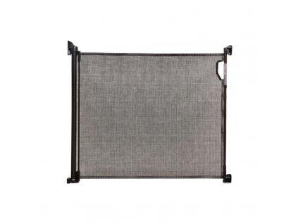 DREAMBABY Zábrana bezpečnostní zatahovací 0-140 cm Black