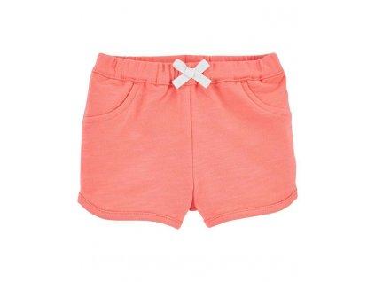 CARTER'S Kalhoty krátké Pink dívka 6 m, vel. 68